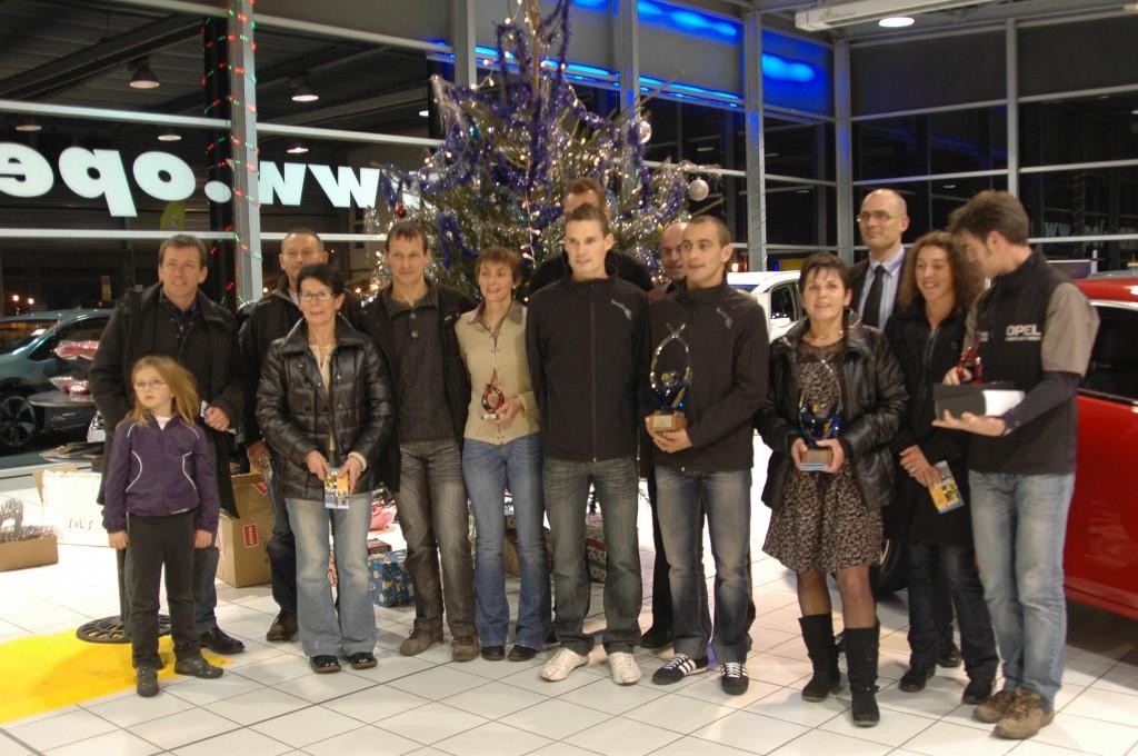 remise de prix du défi raid 2011
